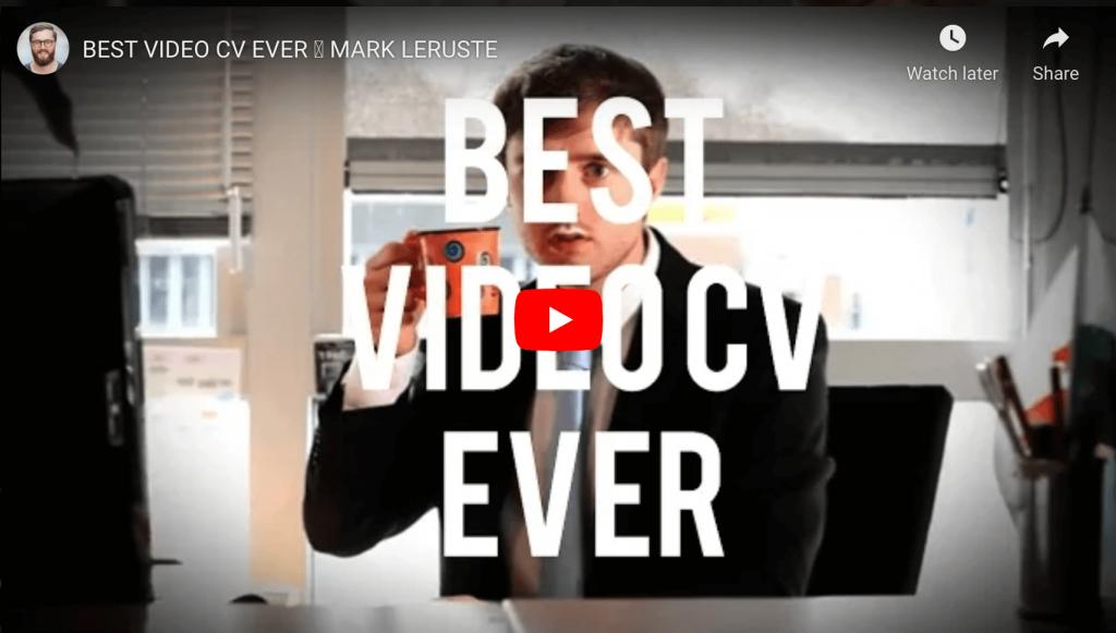 Mark Leruste's video resume