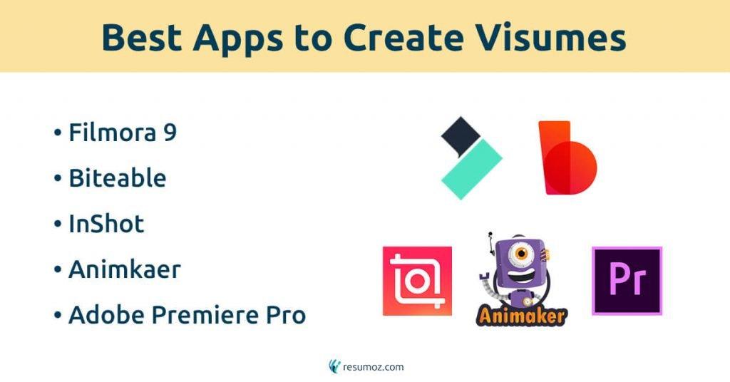 video resume making tools